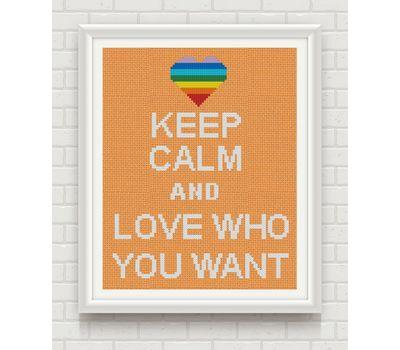 funny cross stitch pattern rainbow love