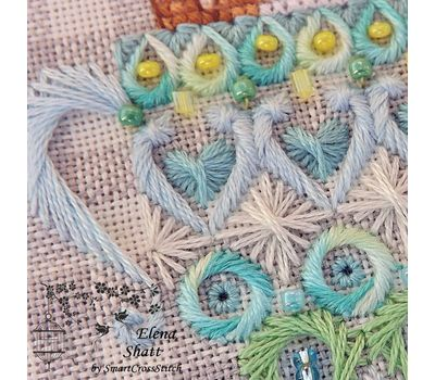Whitework Embroidery pattern Funny Kittens