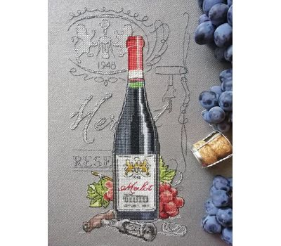 Red Wine cross Stitch chart