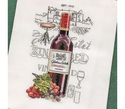 Wine Zinfandel cross Stitch chart