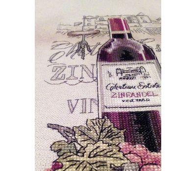 Wine Zinfandel cross Stitch chart download