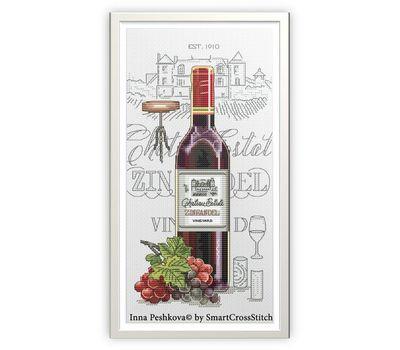 Wine Zinfandel cross Stitch pattern download