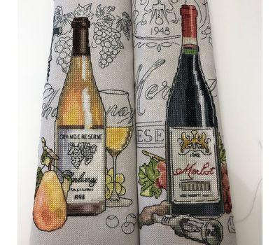 Wine Zinfandel cross Stitch pattern PDF download
