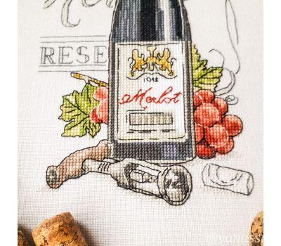 Wine Zinfandel cross Stitch PDF chart download