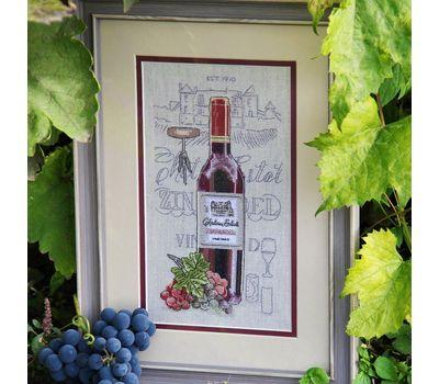 Wine cross Stitch pattern Zinfandel