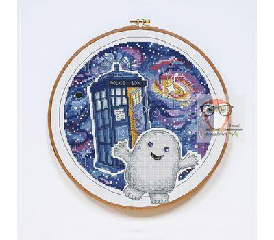 Doctor Who cross stitch pattern Adipose}