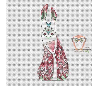Ki - Forest Creatures Cross stitch pattern}