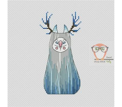 Norn - Forest Creatures Cross stitch pattern}