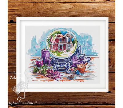 The Enchanted House Cross stitch pattern