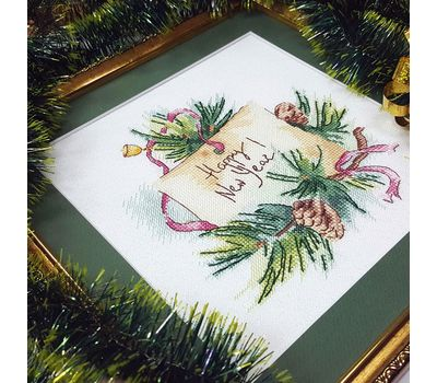 Squirrel and Bee Cross stitch pattern ready work