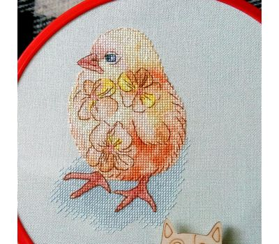 Little Chicken Cross stitch chart