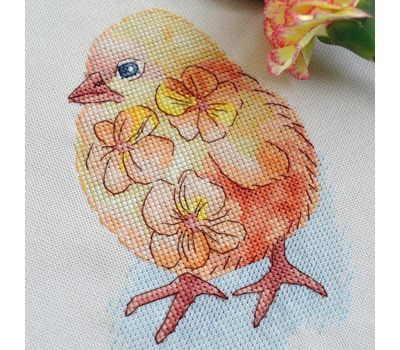 Little Chicken Cross stitch pattern