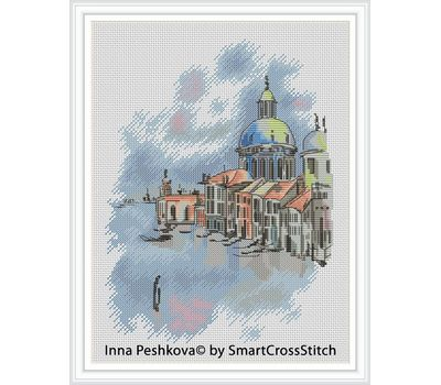 Santa Maria Cathedral Cross stitch chart