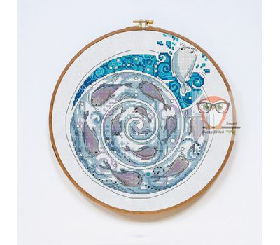 Song of the Sea cross stitch pattern SAOIRSE}