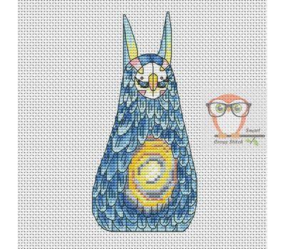 Vist - Forest Creatures Cross stitch pattern}