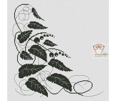 Berries Ornament Free Cross Stitch chart