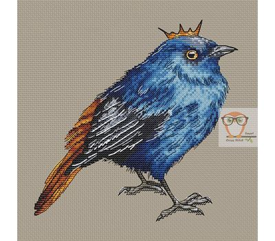 Blue Bird Prince Cross Stitch Chart