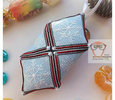 Christmas Bull cross stitch Pattern