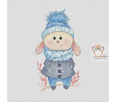 Little Bunny Cross stitch chart