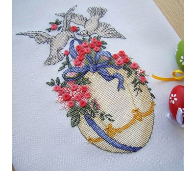 Cross stitch pattern Easter Egg