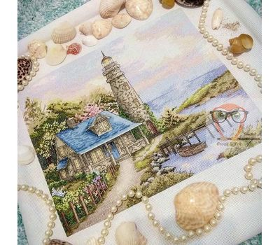 Lighthouse cross stitch pattern