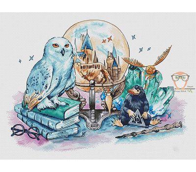 Magic World of Harry Potter cross stitch chart