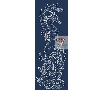 Sea Horse cross cross stitch chart