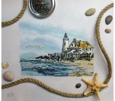 Cove Point Lighthouse Cross Stitch Pattern  Cove Point Lighthouse Cross Stitch Pattern