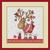 Gift Shopping Christmas cross stitch pattern