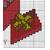 Birthday Greeting Card cross stitch pattern example