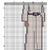 Free LEIA star wars cross stitch pattern example