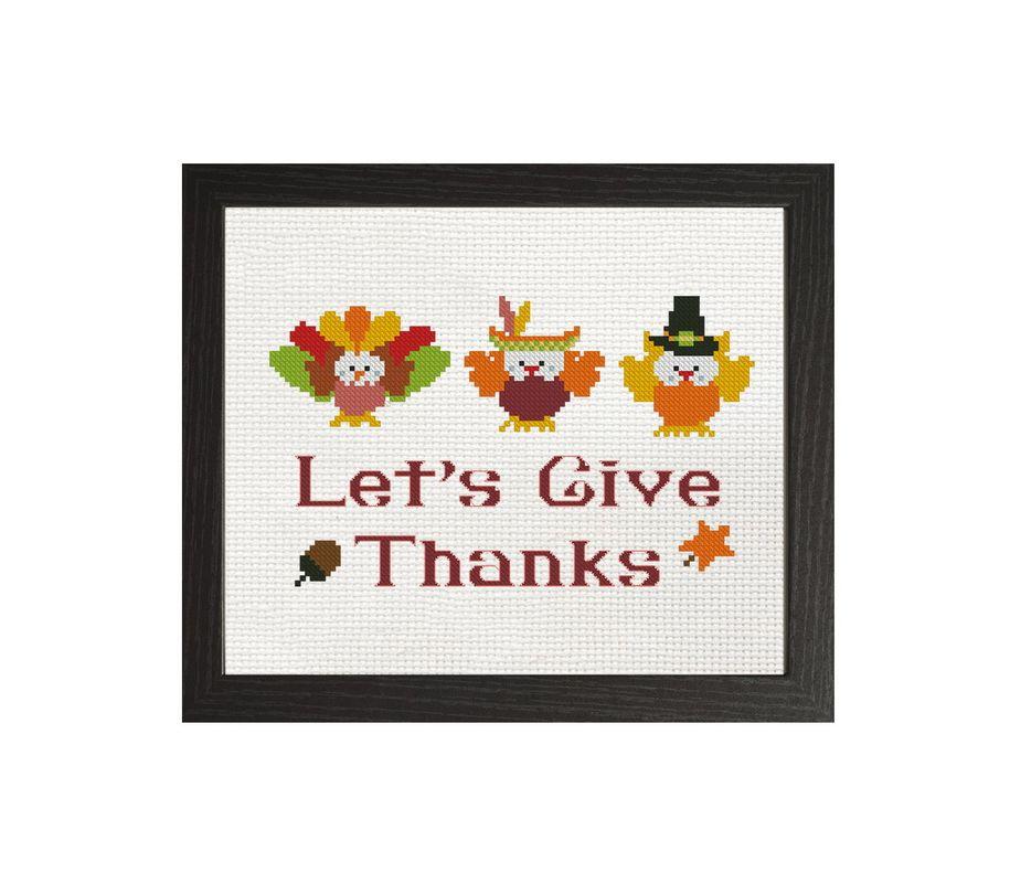 Counted cross stitch pattern Needlepoint pattern Thanksgiving cross stitch pattern. DIY Dancing Turkey Lady cross stitch PATTERN